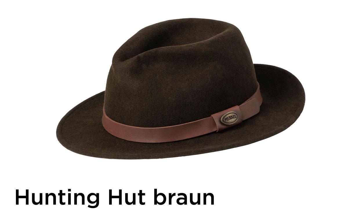 Merkel Accessoires Hunting Hut braun