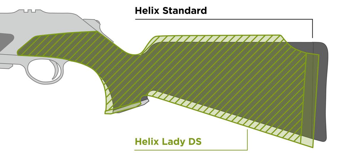 Merkel Lady Schäftung Detail