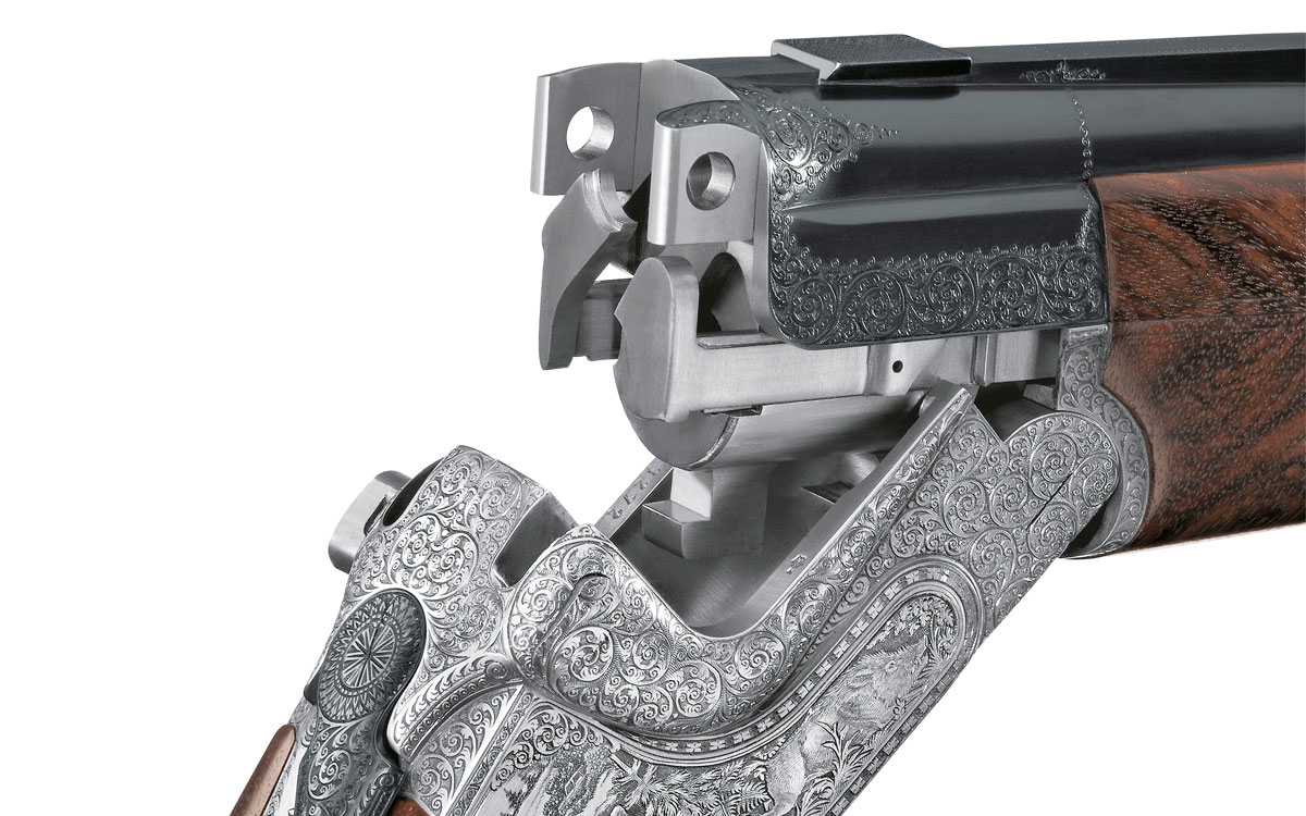 Merkel Bockdoppelflinten 303 Detail System