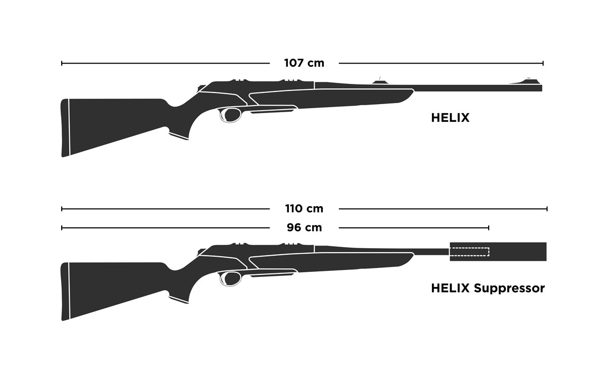 Merkel Helix Suppressor Detail Short